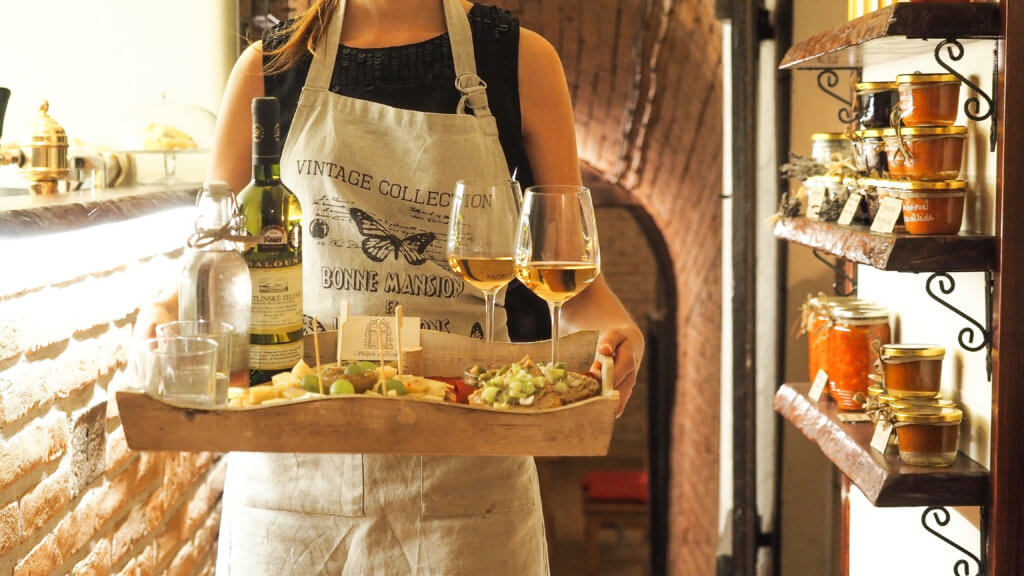 Food and wine pairings for eating