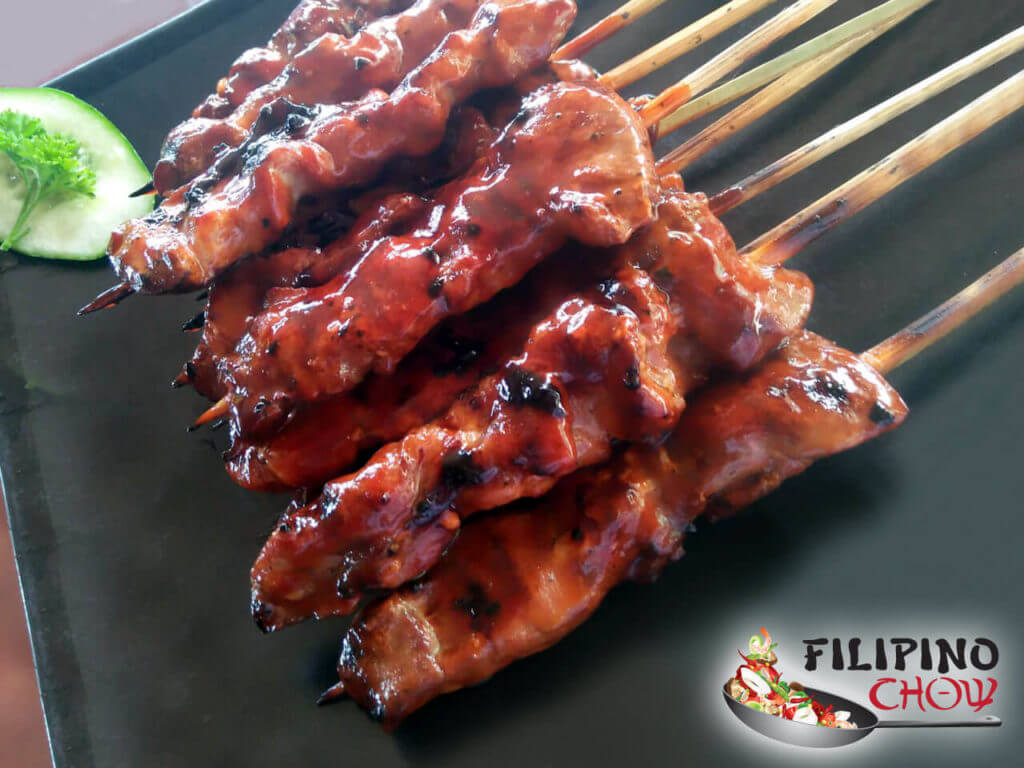 Filipino Barbeque Pork Skewers