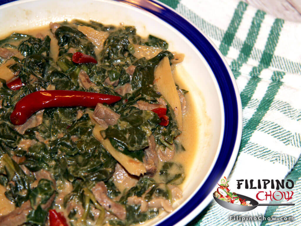 Spinach laing