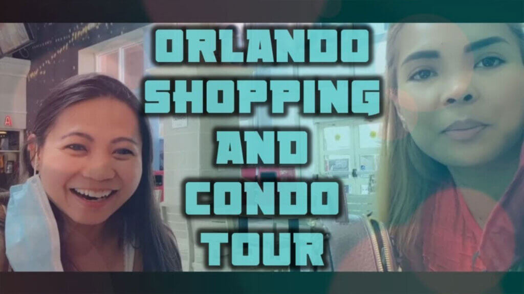 Orlando Birthday Celebration with Outlet Mall Trip and Condo Tour